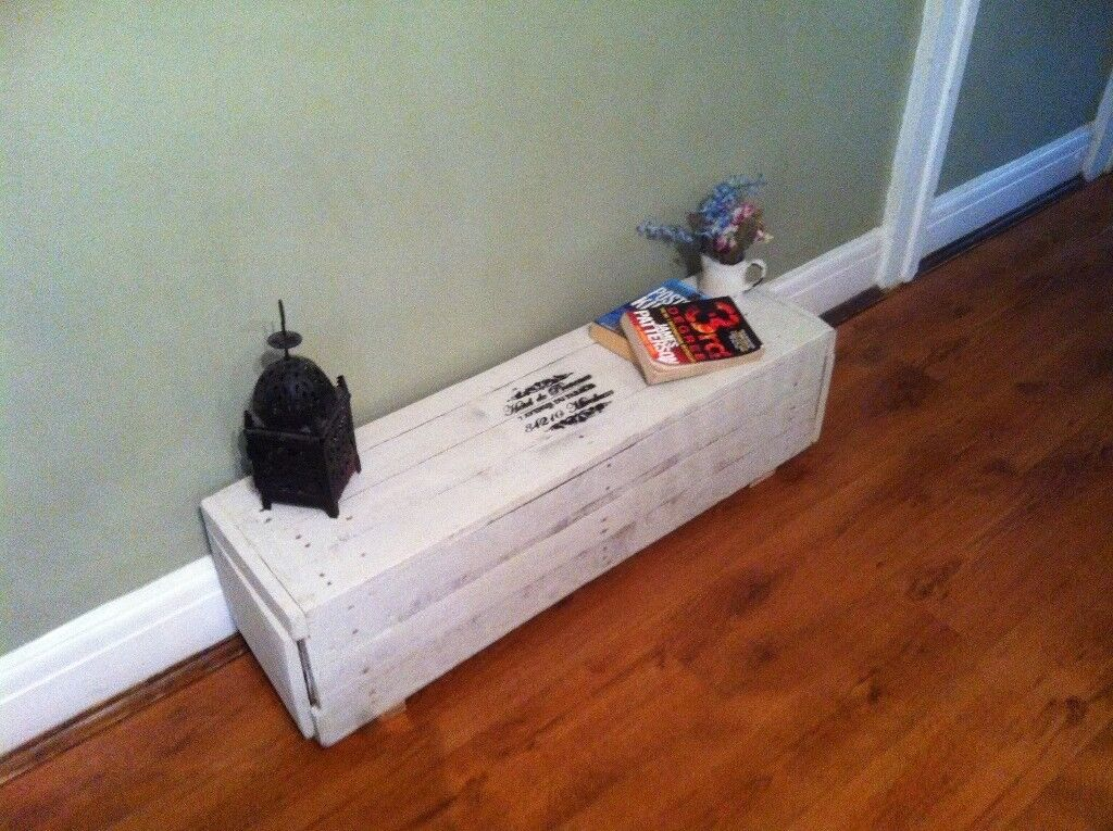 VINTAGE SHABBY CHIC RUSTIC FRENCH INSPIRED FARMHOUSE TRUNK CHEST COFFEE TABLE tv stand