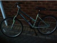 Ladies or girls bike in good condition 21 gears aluminium frame.