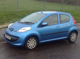 Peugeot 107 998cc 4 doorMot'd 36,000 MLS Only £20 to road tax