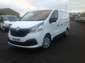 2015 RENAULT TRAFIC BUSINESS + 120 BHP 6 SPEED ONLY 19K MILES ( NEW MODEL ) TOP SPEC