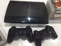 PS3 bundle 29 games 2 controllers