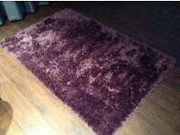 Large purple comfy RUG