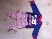 Baby Christmas outfit - newborn