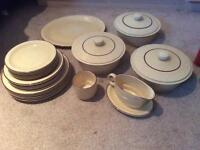 BROADSTONE Poole pottery set