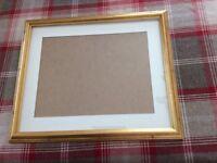 Picture fram, Gold framed