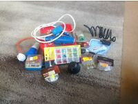 Bundle of various caravan camping items