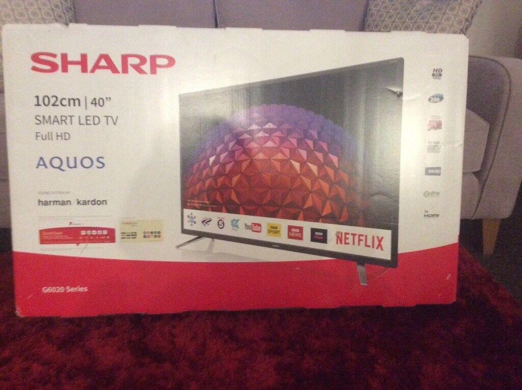 "ffe1fc214 Sharp 40"" Smart TV | in Dalbeattie, Dumfries and Galloway | Gumtree"