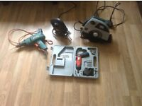 Elictrical builders tools for sale all working