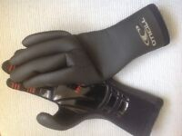 Wetsuit gloves, adult size:XS, o'neill