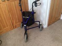 Wheelie walker