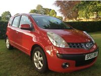 2007 NISSAN NOTE SE DCI 1.5 MPV, 75,000 MLS, MOT NOV'17, NICE RELIABLE CAR, CHEAP TO RUN, ONLY £2700