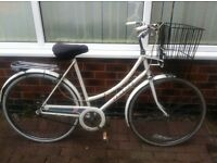 *** Raleigh Caprice Bicycle Vintage with basket. £120***