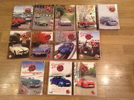Enjoying MG Magazines - 2005 to 2016