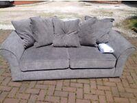 New grey sofa.