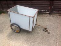 Cycle bike cargo trailer
