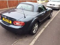 Mazda mx5 for sale. 12 months MOT, no advisories. A bit of body work and tlc required.