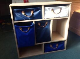 Nursery or Children Bedroom Storage drawers unit. Originally from Great Little Trading Company