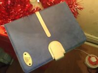 New suede navy blue Apple iPad Air 2 holder