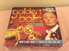 Golden balls electronic board game