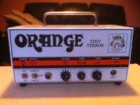 Orange Tiny Terror Valve Guitar Amp head with cab