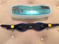 Kids prescription swim goggles, -3.0 shortsighted