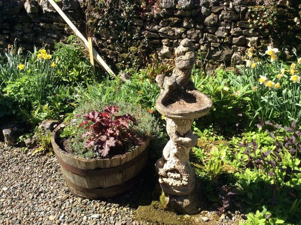 Bird bathin Carnforth, LancashireGumtree - Bird bath with animal detail good condition and no chips or damage. Sturdy