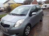 Toyota Yaris 1.3 t3,new mot,one lady owner