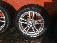 BMW X3 F25 wheels and Winter Tyres