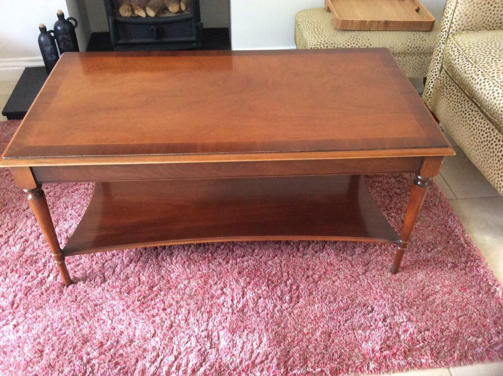 Bradley Coffee Table.Solid Mahogany Coffee Table By Bradley Furniture Manufacturers In Beverley East Yorkshire Gumtree