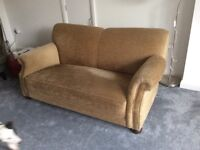 Vintage Sofa with reclining arm