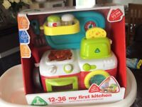 Brand new ELC my first kitchen boxed