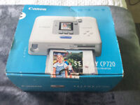 Canon Compact Photo Printer - Selphy CP 720 Brand New in Box only £15