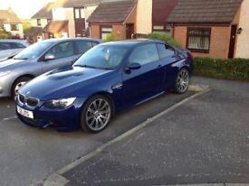 2008 BMW M3 4.0 V8 MANUAL STUNNING INTERLARGOS BLUE ,58600 MILES