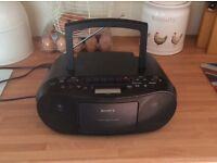 SONY portable Radio-Cd Player - cassette