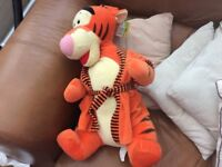 Disneys Tigger soft toy