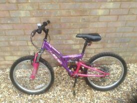 Purple Apollo Bike