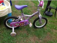 """Apollo petal 14"""" bike"""