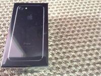 brand new Iphone 7 128gb JET BLACK. Sealed . Unlocked
