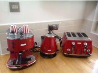 Delonghi coffee maker Kettle & Toaster