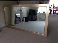 Large indoor mirror