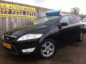 **2009 FORD MONDEO TDCI ZETEC 6/P TOP SPEC IN PANTHER BLACK ** VALUE @ !!!!!