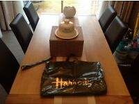 New Harrods luxury Fromargerie, Cheese Dome with Harrods gift box ,Harrods gift Ribbon & Harrods bag