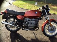 Bmw R45 motorcycle