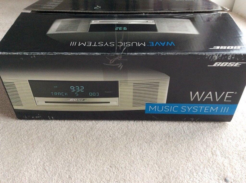 Bose Wave III DAB Radio CD alarm music