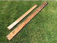 Wood (shed pieces various sizes)