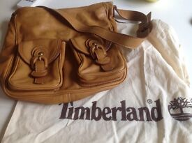 Timberland Tan Leather Handbag for sale like new used only once