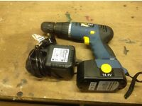 Drill 14.4v with Charger