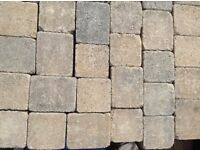 New and unused Tobermore block paving.