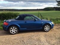 Audi TT soft top. Great condition for age, low mileage