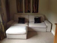 Ikea sofabed & footstool